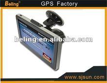 FM&AV-IN 7 inch GPS navigation with HD 800*480 pixels ,gps navigation with fm av-in bluetooth Winows CE 6.0