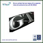 Electroformed logo, Aluminum nameplates