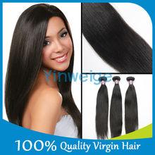 unprocessed straight 100% mink hair brazilian remy hair