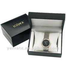2012 high grade luxury stainless steel watch case, watch display case for men