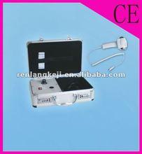 Ultrasonic beauty device for increasing skin elasticity
