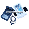2013 fashion PVC mobile phone accessory with earphone pass IP68
