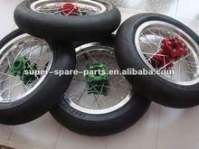 china black dunlop motorcycle tyres 3.00-17