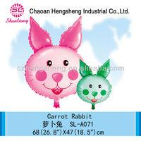 inflatable carrot rabbit balloons