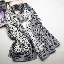 2015 Leopard style silk fashion scarves hot arab muslim hijab scarf