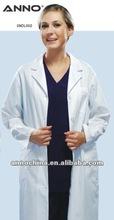 medical white doctor uniform Lady lab coat