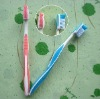 High Quality plastic travel flexible plastic toothbrush for adult daily use