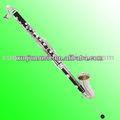 baquelita clarinete bajo con chapado en níquel llaves