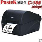 A great savings! Postek C168(203dpi) durable desktop barcode label machine / healthcare, clothes label printer