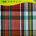 tissu de coton teint par filé teint de filé