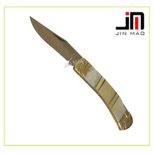 Hot sell style Shell material knives and pocket knife