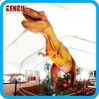 Amusement Park life size dinosaur statues 2014 rex dinosaur king