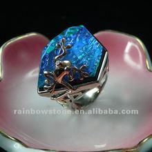 2012 newest ring,crystal gemstone ring,adjustable ring