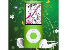2GB-16GB 4th Gen MP4 Player 1.8'' Video Radio FM MP3 5X Scroll Wheel 1.3MP Camera Fashionable (OEM)