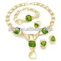 pietra verde pakistani gioielli da sposa set
