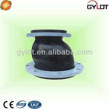 Eccentric reducing rubber connector