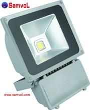 LED Flood Light 70W High Lumen IP65 CE RoHS and 2 Years Warranty