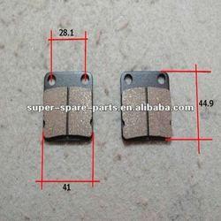 performance chinese good brake pad for atv