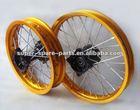 chinese cheap gold wheels hubs dirt bike
