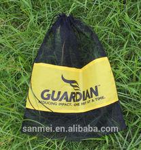 2015 new small drawstring nylon mesh bag