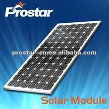 high quality 100w 18v monocrystalline solar panel