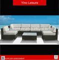 baratos al aire libre muebles de mimbre sofá de mimbre rl0072