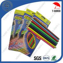 12 Pcs Wooden Kids Color Pencil Set In Bulk