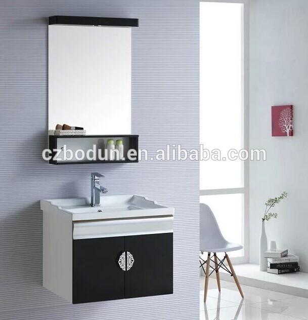 Gabinetes De Baño En Pvc:2013 nuevo diseño de cuarto de baño de pvc gabinete del espejo con
