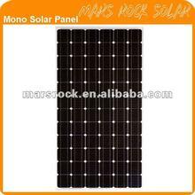 170W-200W High Efficiency Mono Crystallline Solar Panel