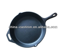 seasoned cast iron skillet factory