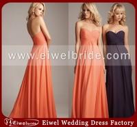 AL1221 Fashion Design Chiffon Bridesmaid Dress Patterns
