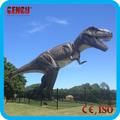La vida- tamaño- dinosaurios- estatua de dinosaurio mecánico de t-rex