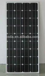 150w mono pv panel solar