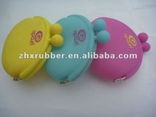 2012 New design Crazy popular candy silicone oval coin purses for young people