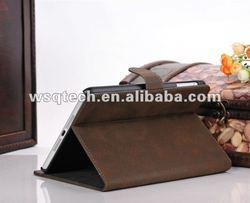 Wholesale Retro design pu leather case for Mini iPad