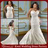 ML066 Fashion New Mermaid Satin Plus Size Wedding Dresses for Fat Woman