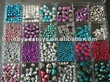 Ningbo Sunrise/ICTI factory/2014 fashion plastic beads/DIY string beads