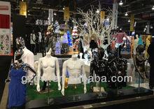 2013 summer dress model plastic female mannequin doll in USA Trade show