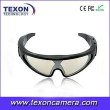HD 720P Glasses Camera Skiing Goggles camera Waterproof Hidden Camera TE-661B