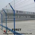 Alta calidad de PVC recubierto valla / chain link esgrima de malla con costura de Metal esgrima de malla de alambre