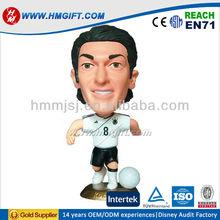 Sports bobble figure, resin bobble head, plastic pvc bobble head