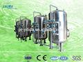 Mecánico de arena y filtro de carbón que bebe de la planta de tratamiento de agua
