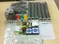 35kv cold shrink 3core indoor terminal kits cable accessory