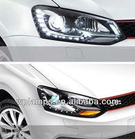VW Polo Xenon Headlight 2011-2013 with LED DRL