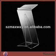 2012 Z Shape Acrylic Lectern Rostrum Pulpit