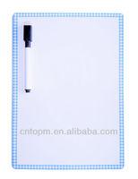 Customized promotional magnetic fridge whiteboard/promotional whiteboard magnet/magnetic whiteboard for fridge