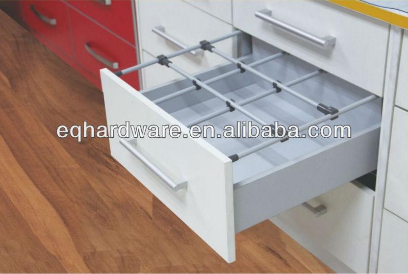 S parateur de tiroir de rangement de cuisine bo tes for Separateur tiroir cuisine