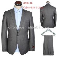 Design uniforme escritório para homens ternos 100% terno de lã