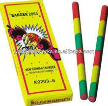 K0203 fireworks banger or loud firecracker petard