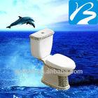 Washdown Floor Mounted Toilet P-trap Toilets